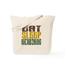 Eat Sleep Kickboxing Tote Bag