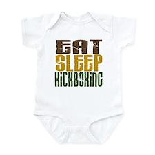 Eat Sleep Kickboxing Infant Bodysuit
