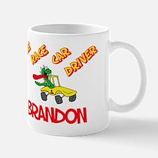 Brandon Race Car Driver Mug