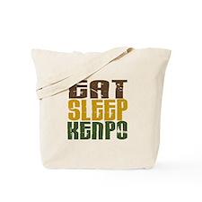 Eat Sleep Kenpo Tote Bag