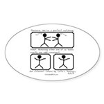 Perfect Matching - Oval Sticker (10 pk)