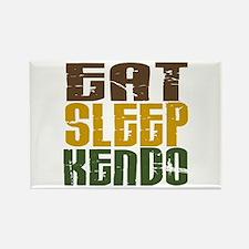 Eat Sleep Kendo Rectangle Magnet