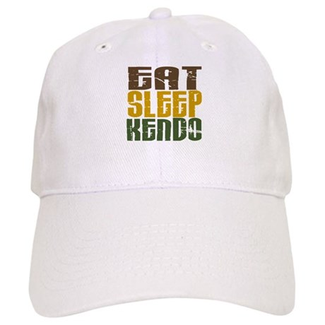 Eat Sleep Kendo Cap
