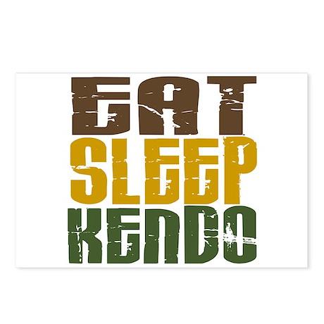 Eat Sleep Kendo Postcards (Package of 8)