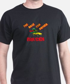 Brayden Race Car Driver T-Shirt
