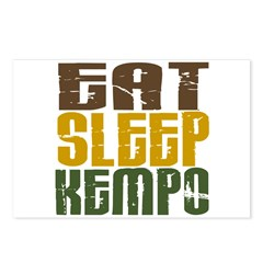 Eat Sleep Kempo Postcards (Package of 8)