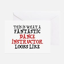 fantastic dance instructor Greeting Card
