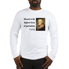 Thomas Jefferson 24 Long Sleeve T-Shirt