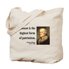 Thomas Jefferson 24 Tote Bag
