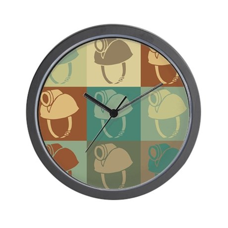 Caving Pop Art Wall Clock