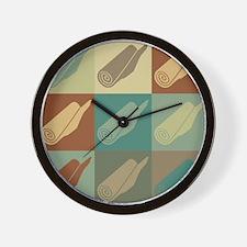 Carpet Pop Art Wall Clock