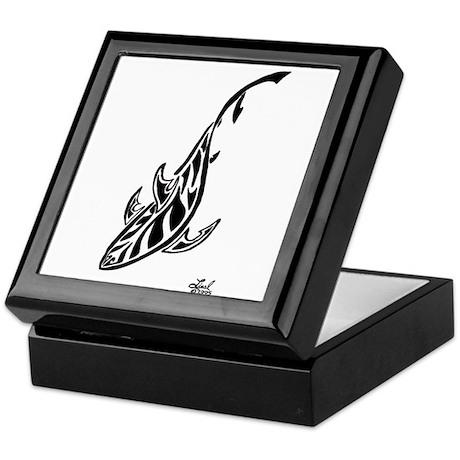 Tribal Shark Keepsake Box