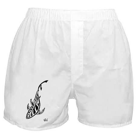 Tribal Shark Boxer Shorts