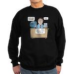 Penis Password Sweatshirt (dark)