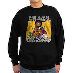 Crazy Cat Lady [Black] Sweatshirt (dark)