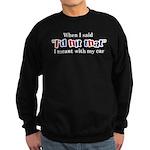 I'd Hit That Sweatshirt (dark)