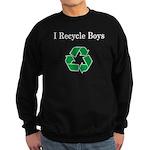 I Recycle Boys Sweatshirt (dark)