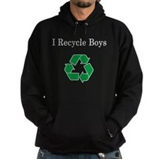 I Recycle Boys Hoodie