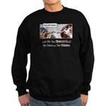 Creation of Man - 8th Day Sweatshirt (dark)