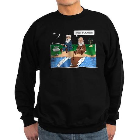 Fishing with Moses Sweatshirt (dark)