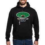 Priority Football Hoodie (dark)