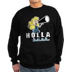 Holla Back Sweatshirt (dark)