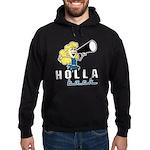 Holla Back Hoodie (dark)