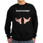 Support Hands Sweatshirt (dark)