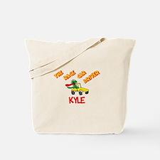 Kyle Race Car Driver Tote Bag