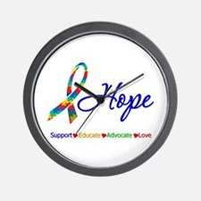 Hope Autism Wall Clock