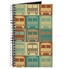 Bus Driving Pop Art Journal