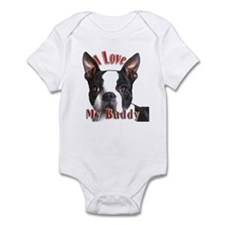 Boston Terrier Buddy Infant Bodysuit