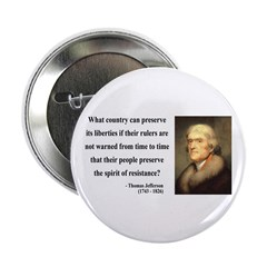 "Thomas Jefferson 25 2.25"" Button (10 pack)"