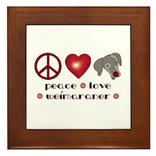 Peace-Joy-Weim Framed Tile