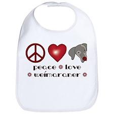 Peace-Joy-Weim Bib