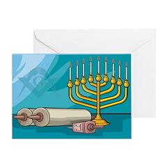 Masonic Chanukkah Greeting Card