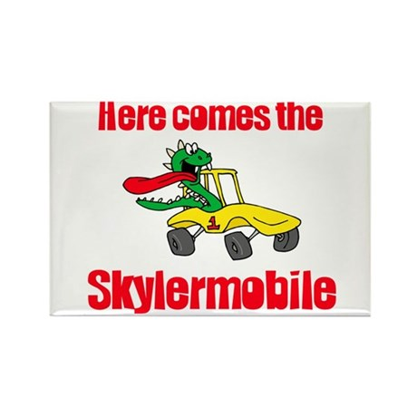 Skylermobile Rectangle Magnet