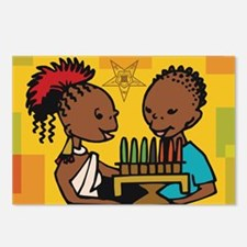 OES Kwanzaa time Postcards (Package of 8)