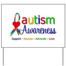 Autism Awareness Yard Sign