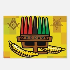 Mason/OES Kwanzaa time Postcards (Package of 8)