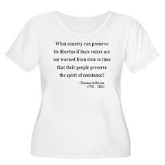 Thomas Jefferson 25 T-Shirt