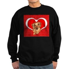 Sweetheart Dachshund Dog Sweatshirt