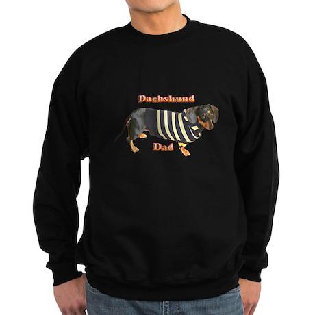 Dachshund Dad Sweatshirt (dark)