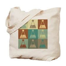 Biology Pop Art Tote Bag