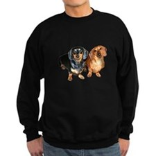 Double Dachshund Dogs Sweatshirt