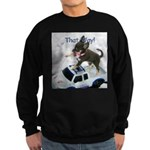 Chihuahua Trucker Sweatshirt (dark)