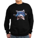 Yoga Kitty Cat Sweatshirt (dark)