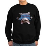 Yoga Kitty Cat Sweatshirt (dark)