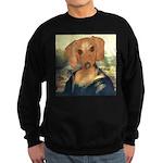Mona Dachshund Sweatshirt (dark)