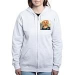 Mona Dachshund Women's Zip Hoodie